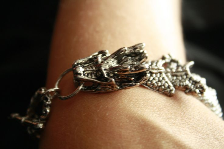 Ridged Back Dragon Bracelet  -  A statement piece..for sure!  At only $14.00  Go to ceesquared.ca  Come for a visit.