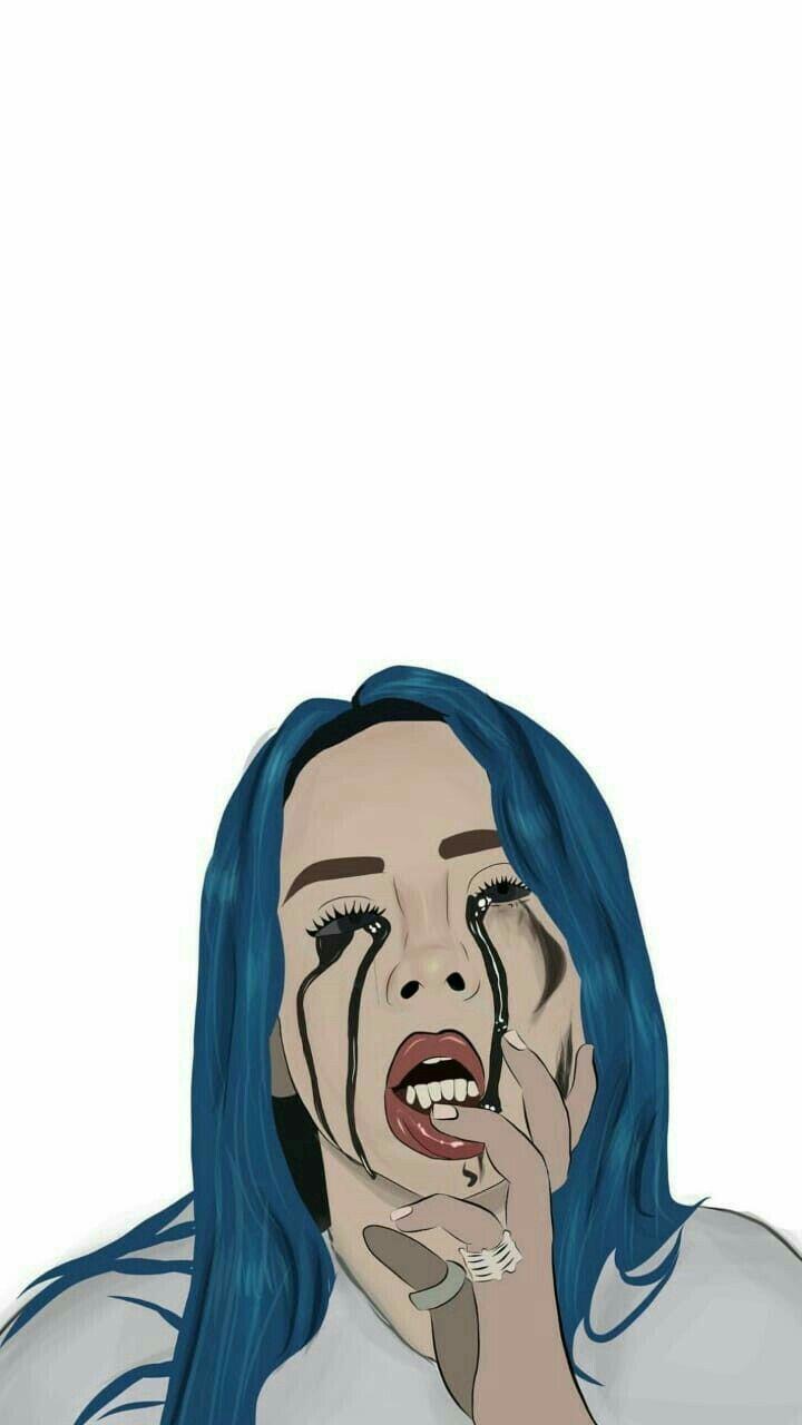 Billie Eilish Billie Eilish Cute Wallpapers Cartoon