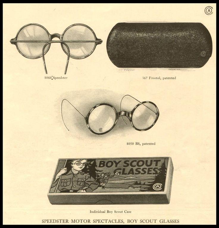 1929 Tillyer Lenses Glasses Boy Reading NORMAN ROCKWELL