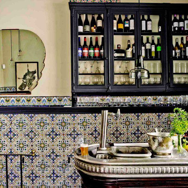 Carmencita: azulejos y vermut