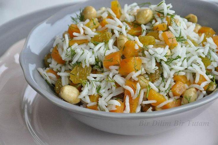 Fıstıklı İran Pilavı - Serap Kılınç #yemekmutfak