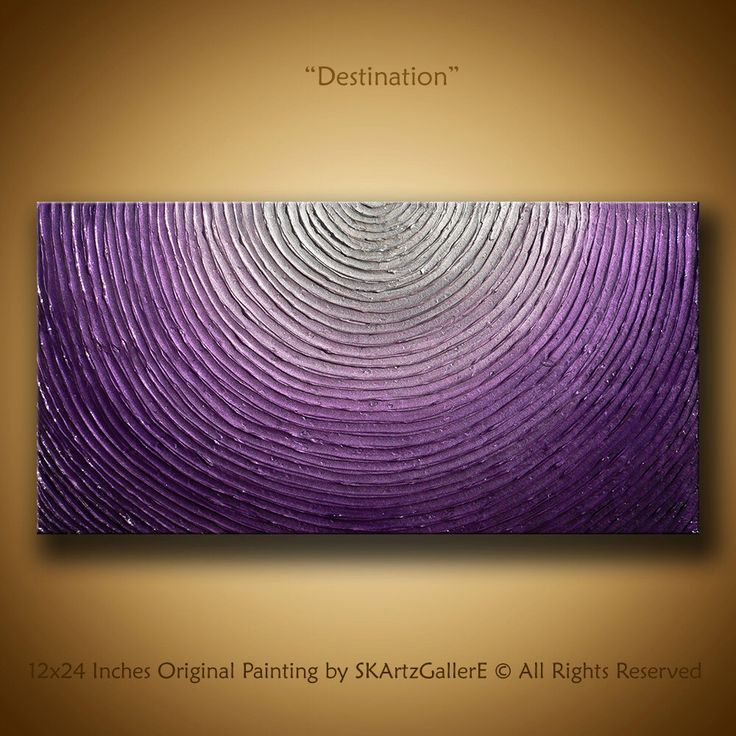 Abstract Artwork, Original Painting, contemporary textured Painting, Impasto artwork, Metalic purple Canvas art, 3d Wall painting Silver by SKArtzGallerE on Etsy https://www.etsy.com/listing/257086832/abstract-artwork-original-painting
