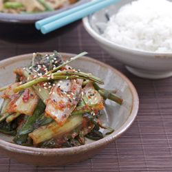Spring Cabbage Kimchee, the taste of home