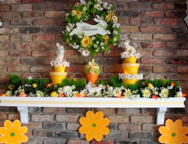 56 best Mantelpiece decoration images on Pinterest   Fireplace ...