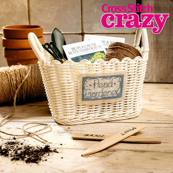 Stitch something special for a gardener with 50 stylish gift ideas inside issue 200 of Cross Stitch Crazy, on sale in all good newsagents, or available to download to your tablet or smartphone through your app store from 27th Jan!