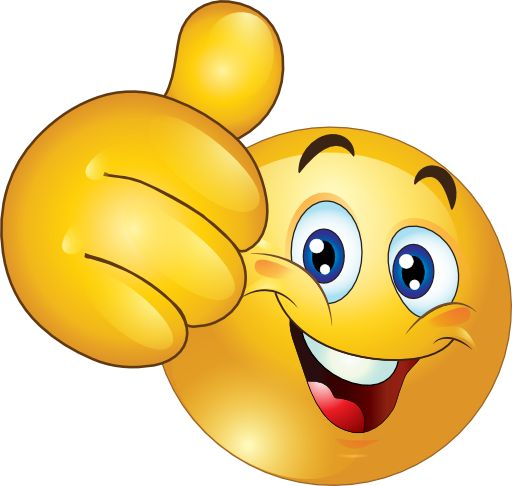 Thumbs Up Happy Smiley Emoticon Clipart Royalty Free  beginning year stuff  Pinterest