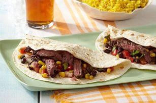 Grilled Steak Fajitas Recipe - Kraft Canada