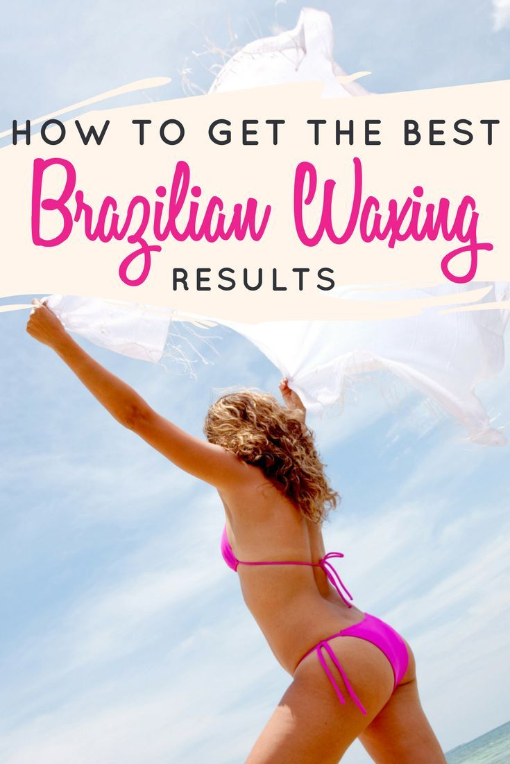 when to get a bikini wax before vacation