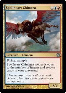 Spellheart Chimera   aby ich słowa nie przywołały jeszcze dziwniejszych stworzeń