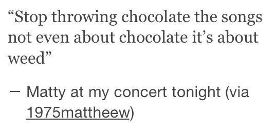 I love you matty