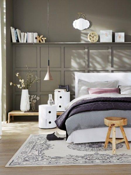 36 best Wandfarbe BRAUN brown images on Pinterest Brown beige - schlafzimmer einrichten braun