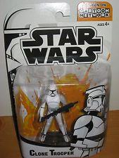 star wars Clone wars season III 3 Cartoon network toys | STAR WARS CLONE TROOPER CARTOON NETWORK