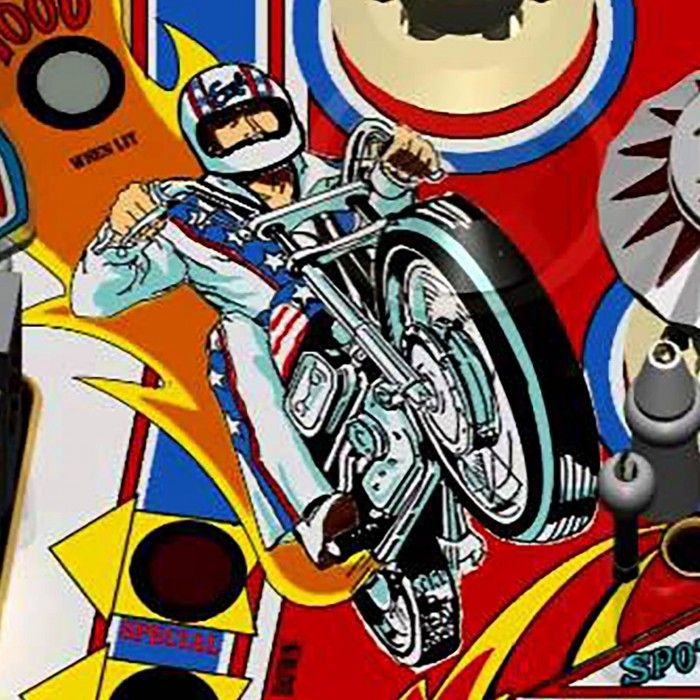 Evel Knievel Pinball Machine | The Games Room Company