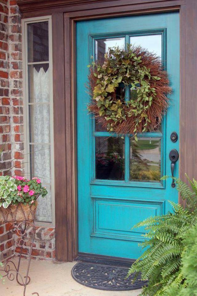 Brick and door color...