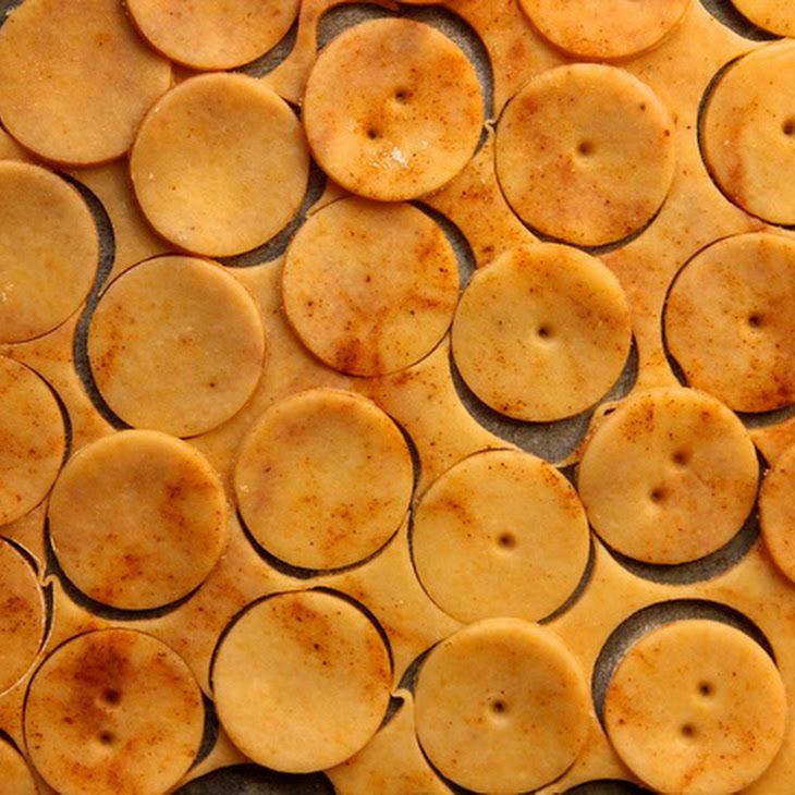 Sharp Cheddar Cheese Crackers Recipe