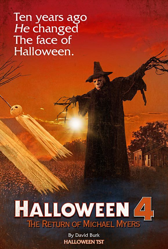 10 years ago he changed the face of halloween halloween 4 - Halloween Scary Movies