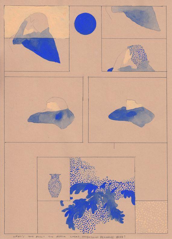 Blue Period : Aidan Koch