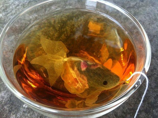 Чайные пакетики-рыбки  charmvilla.com
