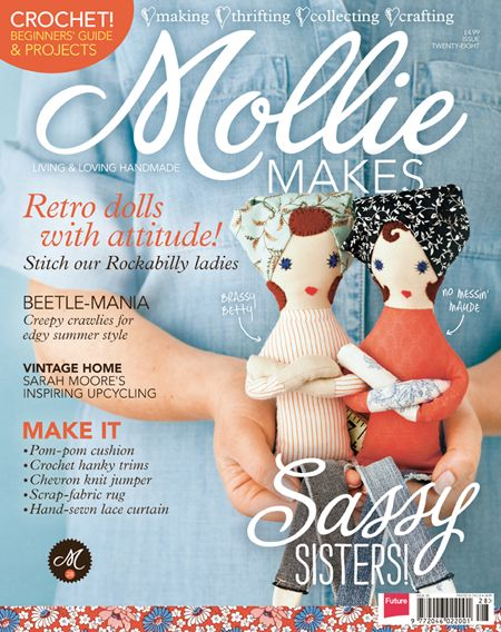 Download Mollie Makes issue 28 templates