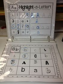 Kindergarten Writing Center - LOVE how this activity focuses on identifying those written correctly!