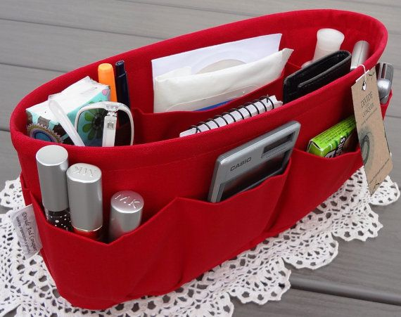 Purse Organizer Insert Shaper Bag By Divideandconquer Organization Purses Bags