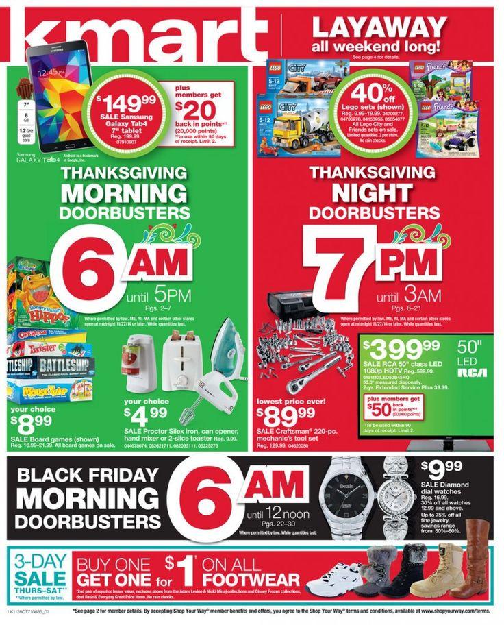 Kmart Black Friday Ad 2014 - Raining Hot Coupons