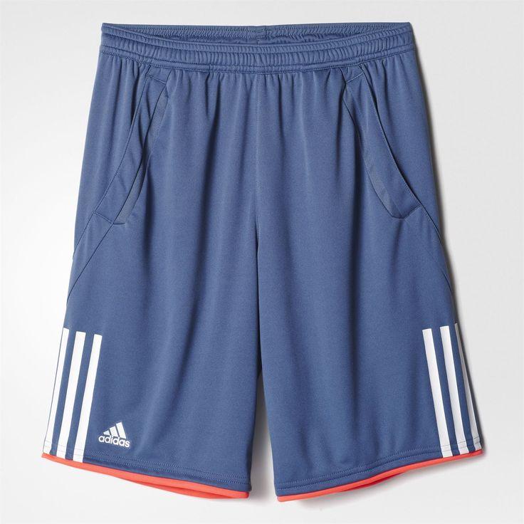 ADIDAS CLUB BERMUDA ŞORT Mavi/Beyaz AX9663 | adidas