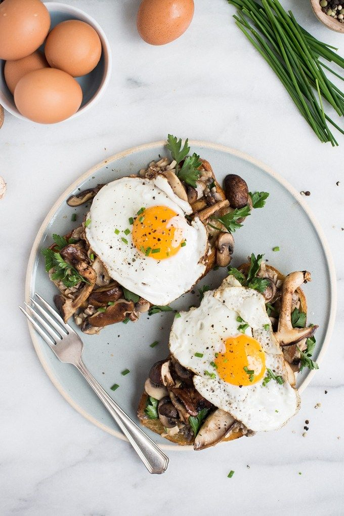Mixed Mushroom Toasts With Egg On Top Superman Cooks Recipe Healthy Breakfast Recipes Brunch Recipes Healthy Breakfast