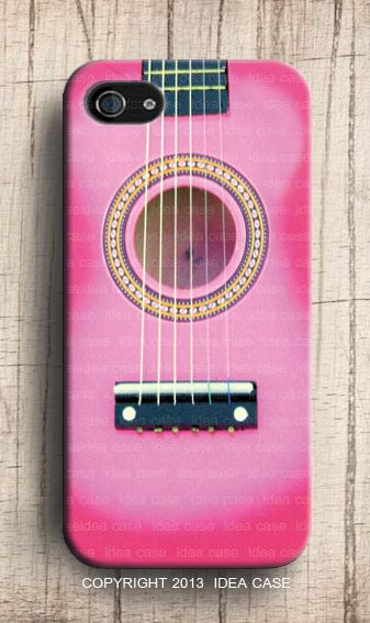Guitar Pink Iphone Case