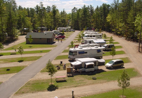 Danforth Bay Camping Amp Rv Resort Has 24 Pull Through Sites For Easy In Easy Out Access Around Danforth Bay Rv Camping Rv Sites Campsite