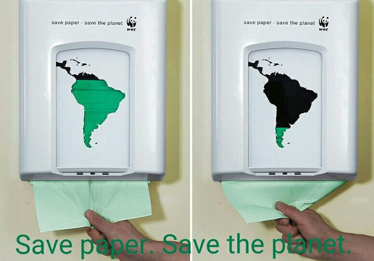 Save paper. Save the planet.