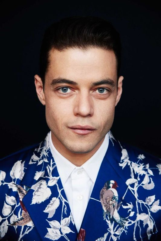 Rami Malek photograph by Erik Madigan Heck. Jacket is Wild!