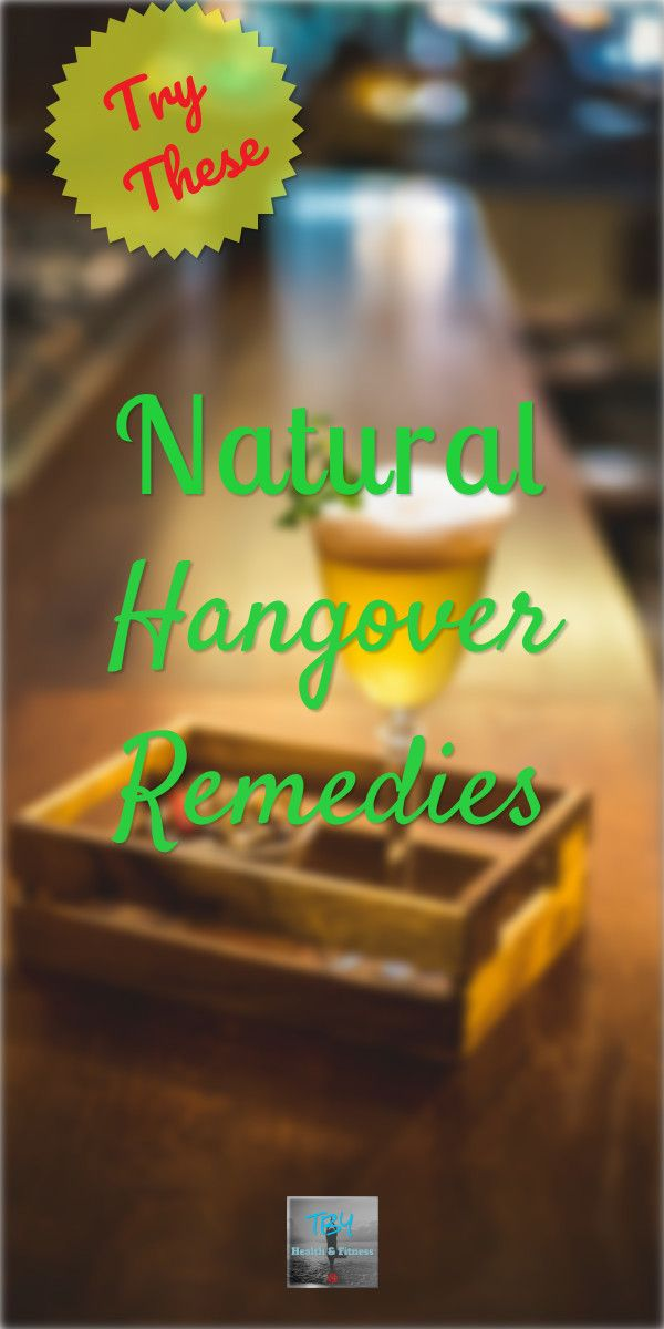 Overdue it last night? Check out these great natural hangover remedies and get back on your feet fast!