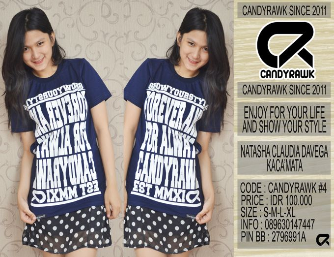 #36 | CANDYRAWK #4 | IDR 100.000 | SOLD OUT |