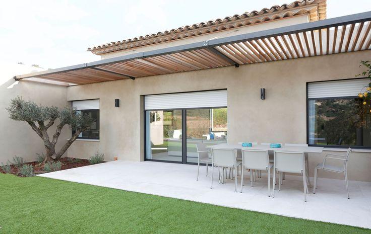 #Fenêtres et Baie vitrée réalisé par Rafflin Alu & PVC, pour une constructio…