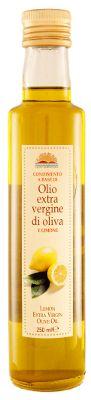 Oli extra vergine d'oliva : Olio Extra Vergine d'Oliva al Limone