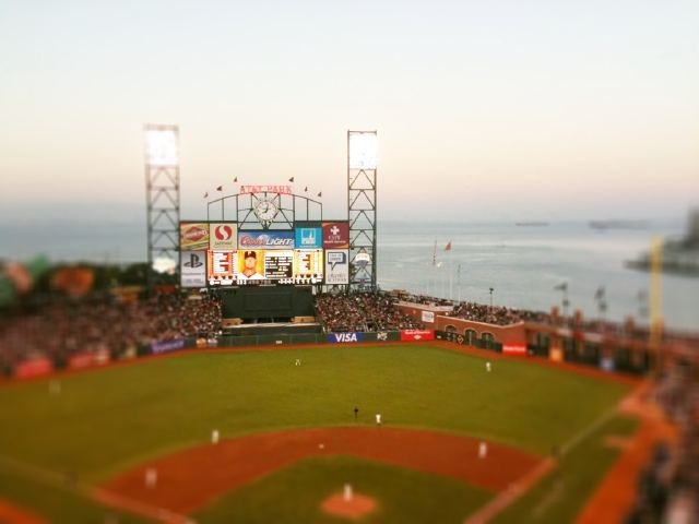Stadium home to my favorite team, the giants