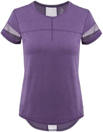 tasc Performance Women's Sprinter T-Shirt Voodoo Purple XL