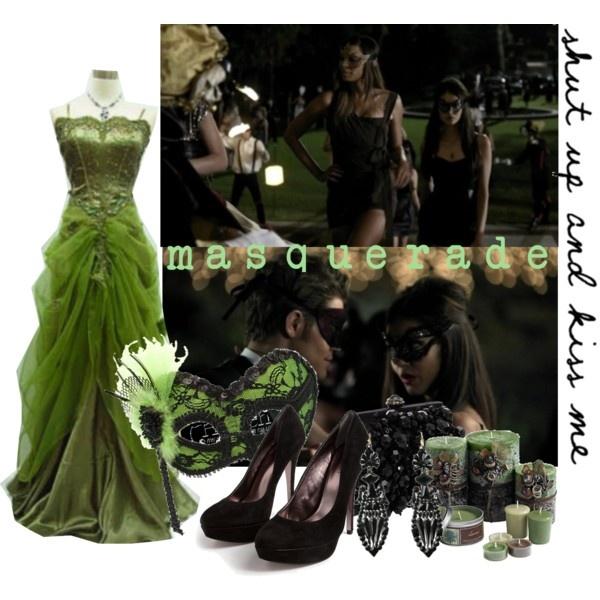 Vampire Diaries - Masquerade set, created by kalet