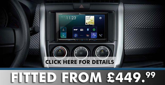 Pioneer Sph Da230dab Apple Carplay Androidauto Dab Bluetooth
