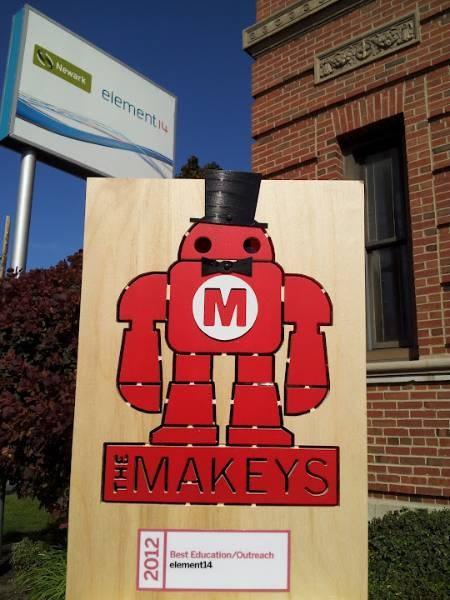We won a 2012 Makey award! :)