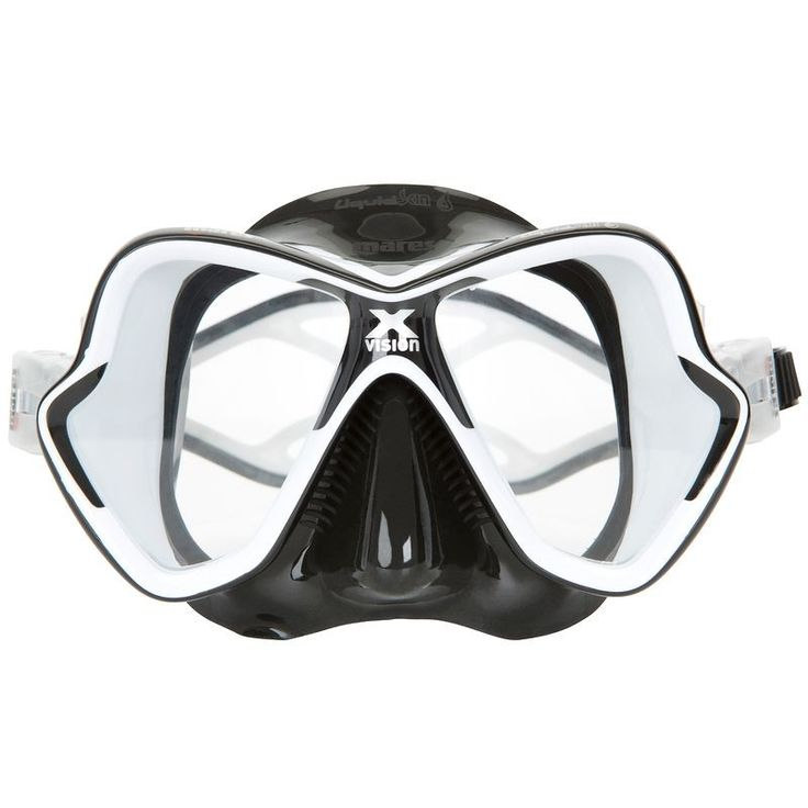 BPG Plongee Plongée, Snorkeling - Masque Liquid Skin Mares noir MARES SPA - Plongée, Snorkeling