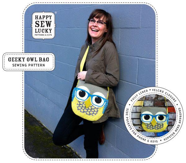GEEKY OWL Bag tutorial