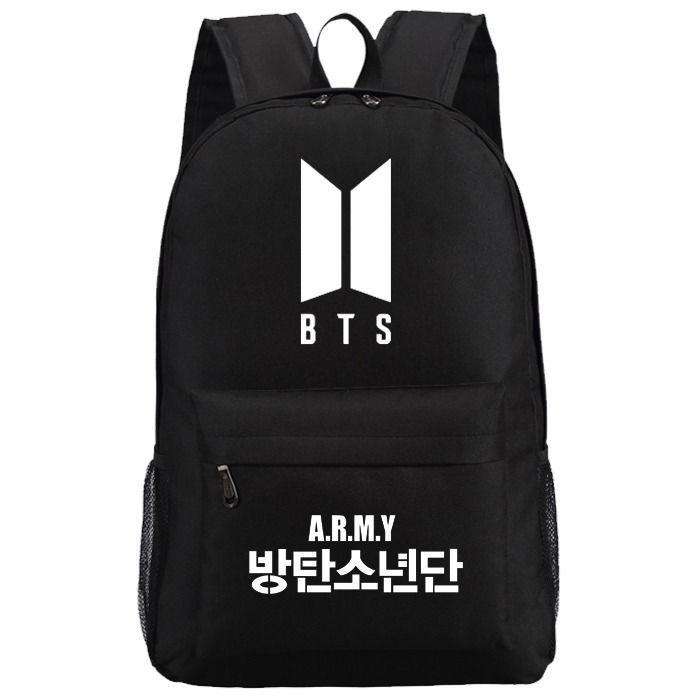 KPOP BTS New Logo Backpack Bangtan Boys School Bag Kook JIN Jimin Jung | Musik, Fanartikel & Merchandise, Sonstige | eBay!