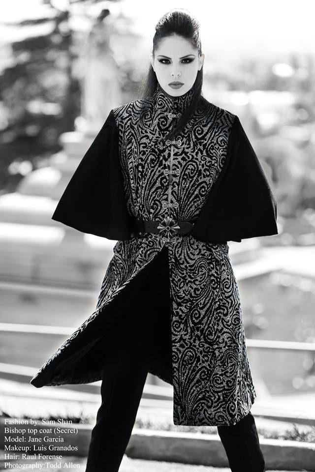 The Vengeance -  Fashion by: Sam Shan Model: Jane García Makeup: Luis Granados Hair: Raul Forense Photography by Todd Allen
