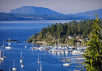 Brentwood Bay, South Island, Vancouver Island, BC. Your West Coast.