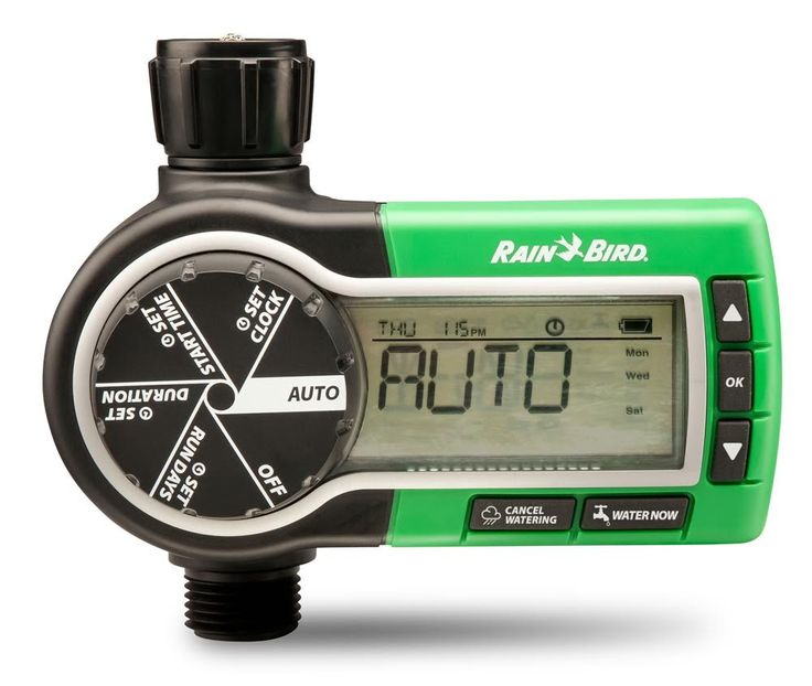 Tweet and #WinWithGKH: Rain Bird Electronic Garden Hose Sprinkler Timer: FIVE LUCKY WINNERS will win a Rain Bird Electronic Garden Hose Sprinkler Timer  (ARV $65.00), which is an easy-to-use digital controller that will automate your hose-end sprinklers, drip irrigation system or soaker hose for better scheduling consistency! Ends 12/3/15