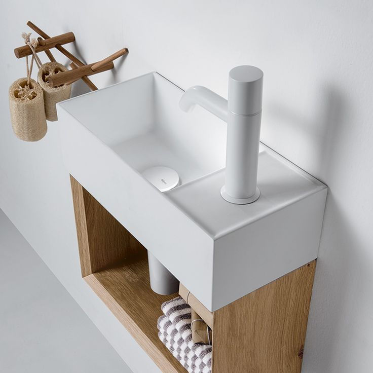 The Falper Lavamani Wall Hung 120 Rectangular Washbasin is designed especially for bathrooms of modest dimensions. The piece is manufactured in Ceramilux, an innovative material used to enhance the appearance of the washbasin, allowing unprecedented levels of slenderness.