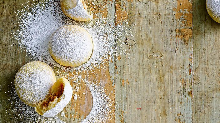 Walnut-filled biscuits | Ma'amoul | Biscuit recipes | SBS Food