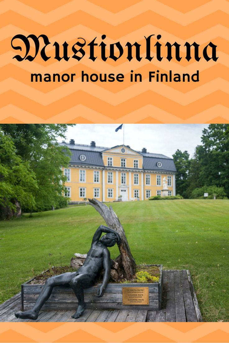 Things to do in Mustionlinna and Fiskars - a former industrial town now artists village
